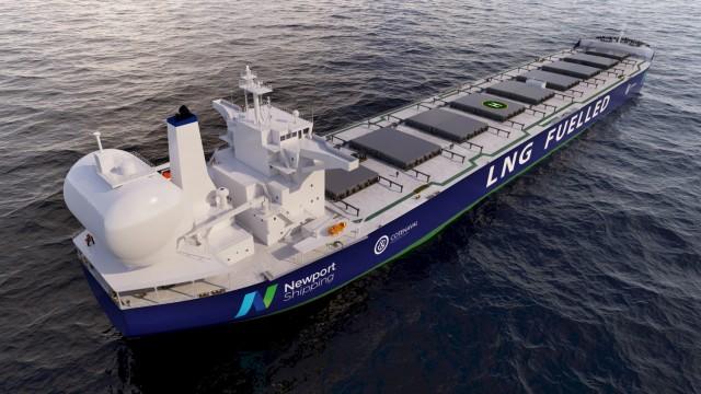 Καινοτόμο σύστημα δεξαμενών καυσίμου LNG για δεξαμενόπλοια και φορτηγά πλοία