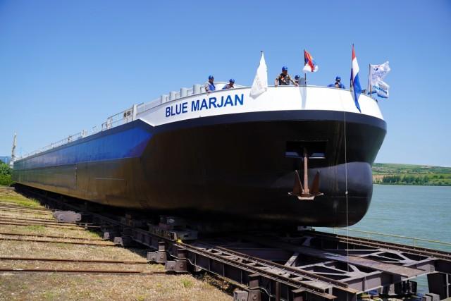 H Concordia Damen ολοκλήρωσε την καθέλκυση 40 δεξαμενόπλοιων εσωτερικής ναυσιπλοΐας κατανάλωσης καυσίμου LNG