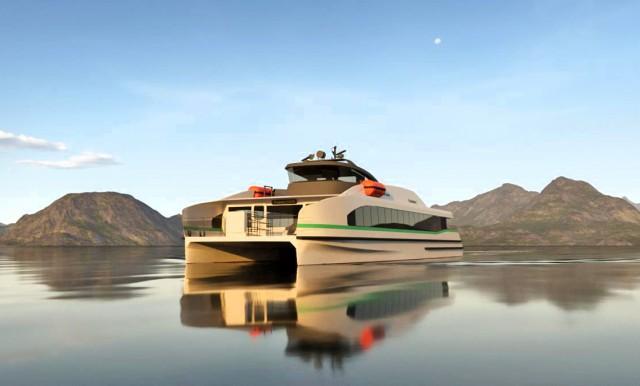 To πρώτο παγκοσμίως πλήρως ηλεκτρικό fast ferry