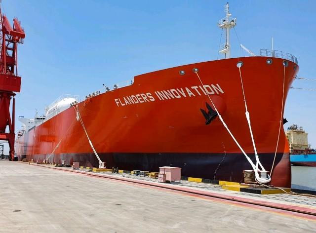 Παραλαβή τoυ μεγαλύτερου LPG carrier διπλού καυσίμου του κόσμου