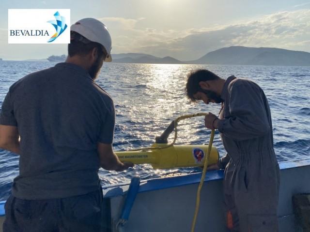 Bevaldia: Υπηρεσίες υποβρύχιας αναζήτησης και ανάκτησης άγκυρας/καδένας