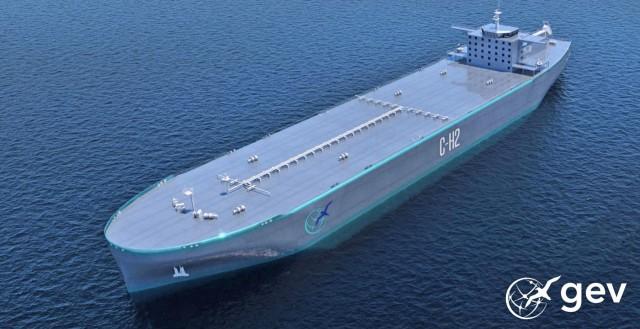 Νέα συνεργασία για την ανάπτυξη συστημάτων πρόωσης για πλοία μεταφοράς υδρογόνου