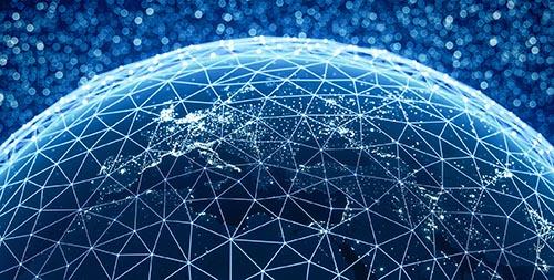 Global Connections (World Map Credits To NASA)