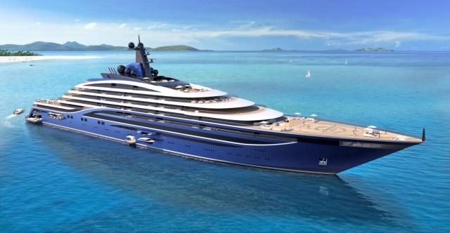 Συμφωνία ναυπήγησης του μεγαλύτερου yacht στον κόσμο