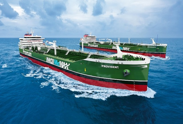 Proman: Παραγγελία δύο ακόμη πλοίων κατανάλωσης μεθανόλης