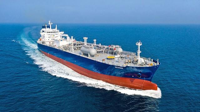 SEAMAID: Το νεότευκτο LPG Carrier της Thenamaris