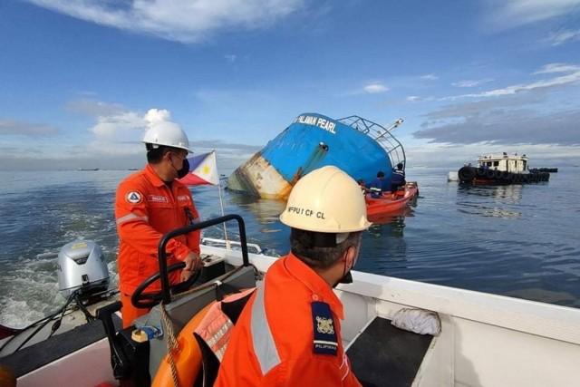 Φιλιππίνες: Σύγκρουση πλοίου με βυθοκόρο