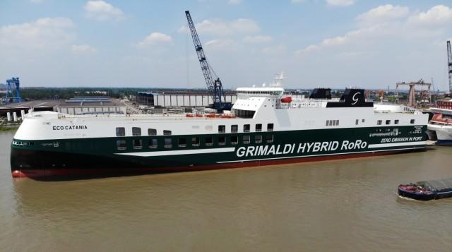 Ο πέμπτος πράσινος γίγαντας στον στόλο της Grimaldi