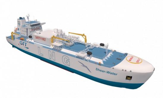 Προηγμένος σχεδιασμός πλοίου ανεφοδιασμού καυσίμου LNG