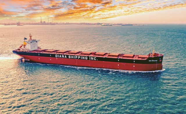 Diana Shipping: Αγορά ίδιων μετοχών και απόκτηση ενός Kamsarmax
