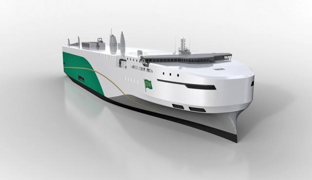 Πράσινα πλοία επιστρατεύει η Volkswagen για τη μεταφορά οχημάτων
