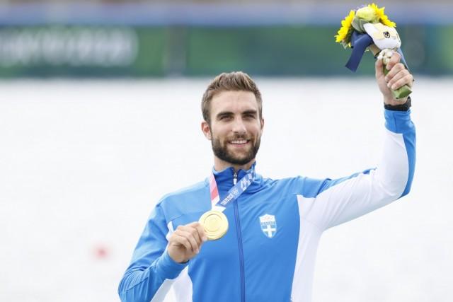 Στ. Ντούσκος: Το πρώτο υδάτινο χρυσό μετάλλιο στο Τόκιο