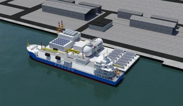 Νέα πλωτή πλατφόρμα κατανάλωσης LNG και υδρογόνου