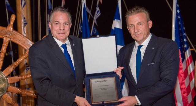 Propeller Club: Δείπνο προς τιμήν των Μελών της Παγκόσμιας Διακοινοβουλευτικής Ένωσης Ελληνισμού