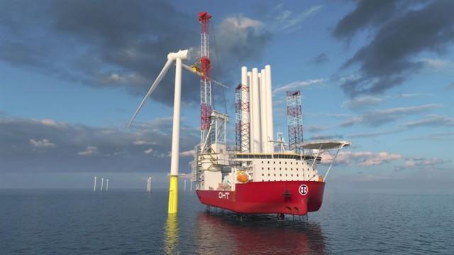 H Wärtsilä αναλαμβάνει τον εξοπλισμό ενός καινοτόμου πλοίου εγκατάστασης υπεράκτιων ανεμογεννητριών