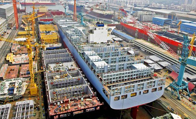 17 νέες παραγγελίες πλοίων σε κινέζικο ναυπηγείο