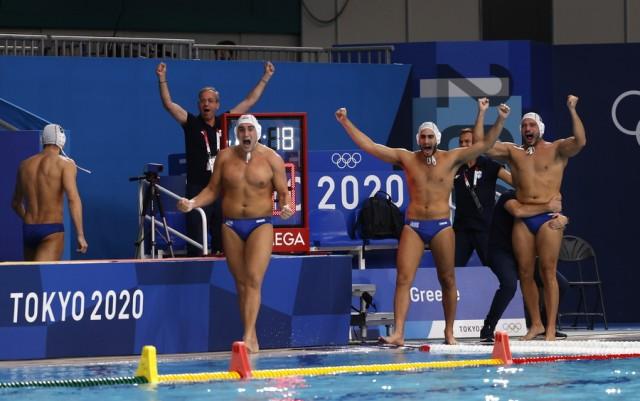 Eλληνικός θρίαμβος στο Τόκιο: Η εθνική ομάδα πόλο στον τελικό