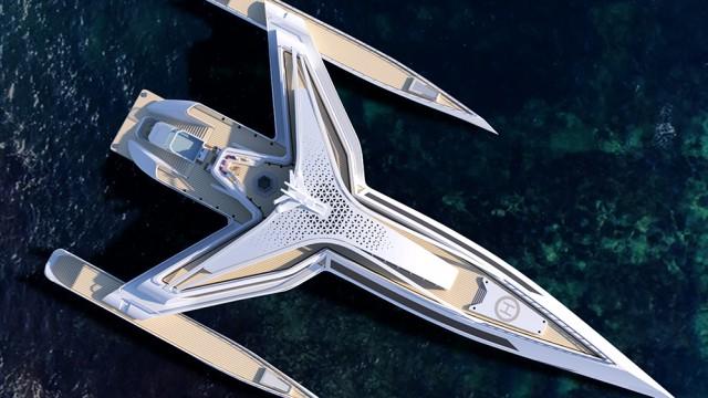 Estrella: Το σκάφος πολυτελείας που βγήκε από το Star Wars