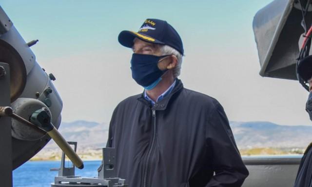 Π. Λασκαρίδης: Σημαντική δωρεά προς πυρόπληκτους πληθυσμούς και Πυροσβεστικό Σώμα