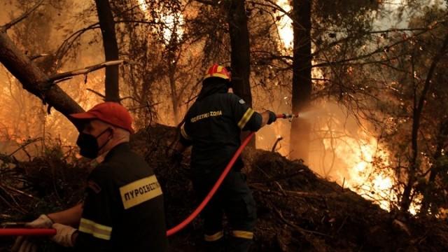 Υψηλός κίνδυνος εκδήλωσης πυρκαγιάς σε 5 περιφέρειες της χώρας