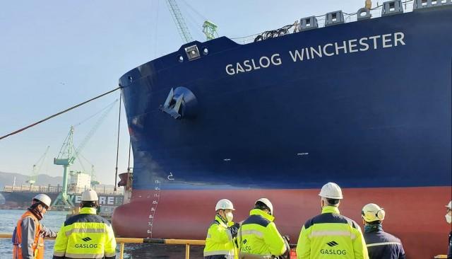 «GasLog Winchester»: Παραλαβή ενός ακόμα πλοίου για την GasLog