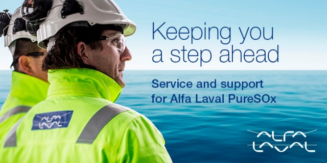 Alfa Laval: PureSOx scrubbers to lead the way