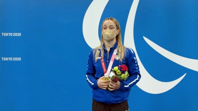 Χρυσό μετάλλιο για την Καρολίνα Πελενδρίτου