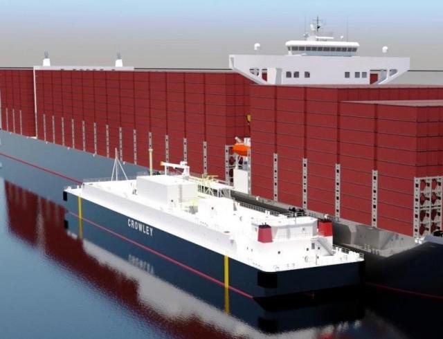 Το μεγαλύτερο LNG bunker barge των ΗΠΑ