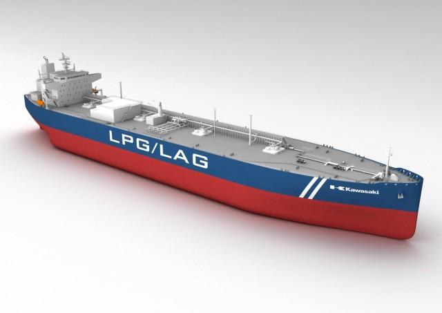 Πλοίο μεταφοράς υγροποιημένης αμμωνίας με ιαπωνικό «άρωμα»