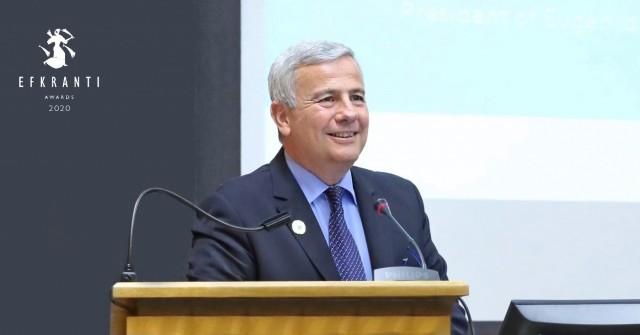 Λεωνίδας Δημητριάδης-Ευγενίδης: Βραβείο Ευκράντη για τη συνολική προσφορά στη ναυτιλία