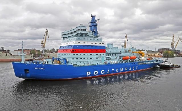 «Συνωστισμός» παγοθραυστικών πλοίων κατανάλωσης LNG στο Βόρειο Πέρασμα