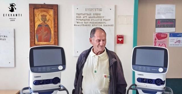 Ιωάννης Μανουσάκης: Ο θαλασσινός «ήρωας» της Τήλου και της Ρόδου