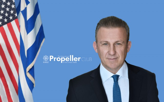 Κωστής Φραγκούλης: Συνεχίζει στα «ηνία» του Propeller Club Πειραιά