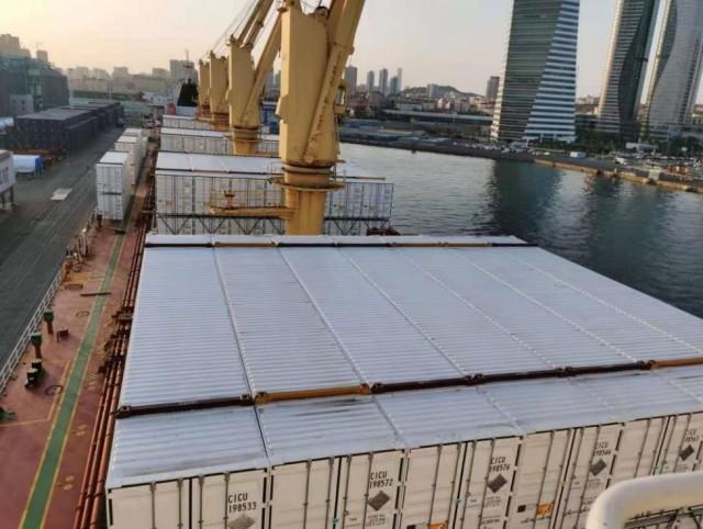 Νέες κατευθυντήριες γραμμές από τον BV για τη μεταφορά containers από φορτηγά πλοία