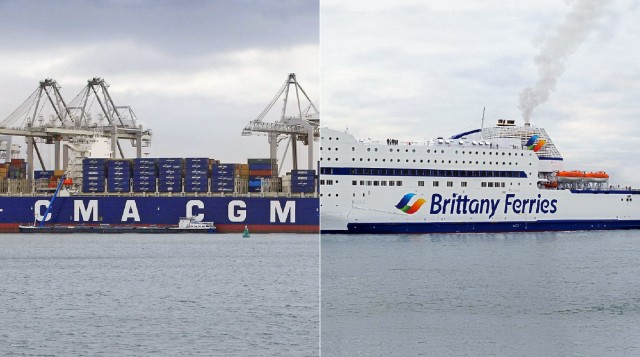 Επένδυση 25 εκατ. ευρώ της CMA CGM στην Brittany Ferries