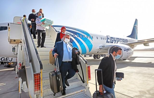 Η EgyptAir πετάει προς Ισραήλ για πρώτη φορά από το 1979