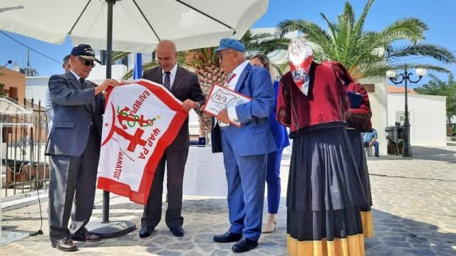 Καπτ. Π. Τσάκος: Δωρεά ομοιώματος του «Γεώργιος Αβέρωφ» στα Ψαρά