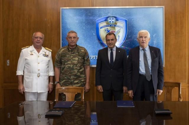 Π. Λασκαρίδης: Υπογραφή σύμβασης για τη δωρεά του τρίτου ΠΓΥ στο Πολεμικό Ναυτικό
