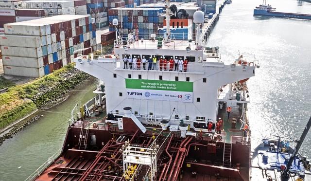 Επιτυχής δοκιμή 100% βιώσιμου βιοκαυσίμου σε δεξαμενόπλοιο
