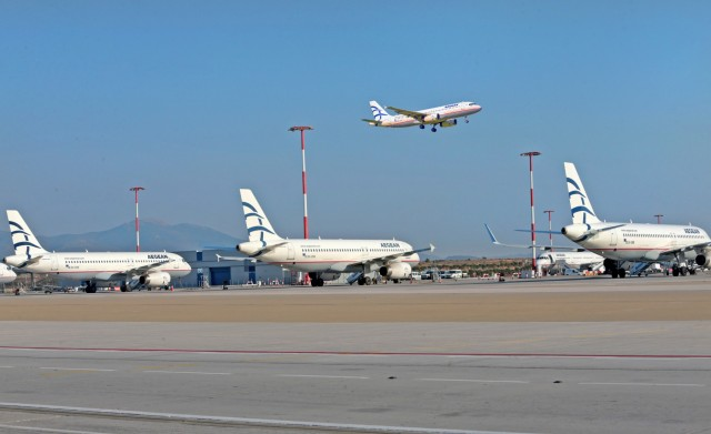 Aνάκαμψη της επιβατικής κίνησης στον Διεθνή Αερολιμένα Αθηνών