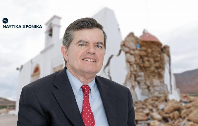 Αθ. Μαρτίνος: Η προσφορά για την αποκατάσταση του ναού του Αγίου Νικολάου στον Ξερόκαμπο Σητείας